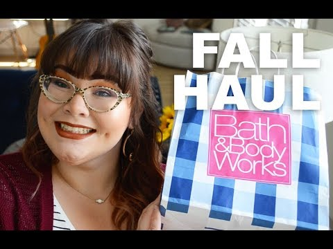 Bath & Body Works Fall Haul  StephanieRae