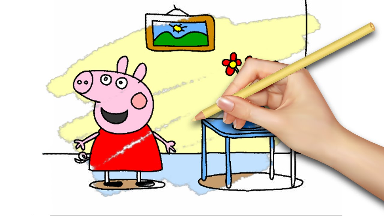 NEW! Peppa Pig Coloring Pages for Kids Coloring Games Part 27 - Coloring Book