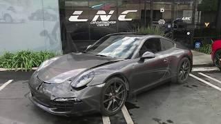 Rebuiding a wreck sport car LNC Collison