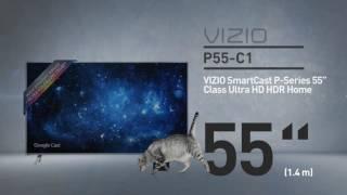 """All-New 2016 VIZIO P55-C1 SmartCast™ P-Series™ 55"""" Class Ultra HD HDR // Full Specs Review  #VIZIO"""