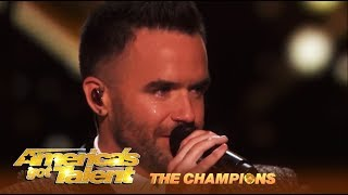 Brian Justin Crum BREAKS DOWN In Tears For The Finals Performance | AGT Champions