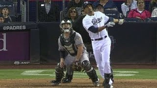 Guzman's fly ball becomes ground-rule double