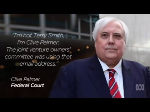 """I'm not Terry Smith, I'm Clive Palmer,"" Palmer tells court"