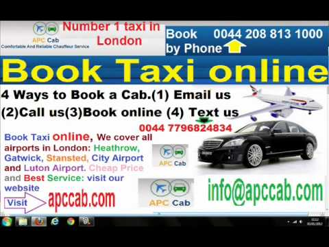 Chelsea Taxi, Taxi to all Airports, Cheap and Best Taxi