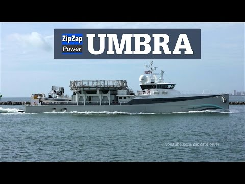 Superyacht Support Vessel | UMBRA Returns to Miami