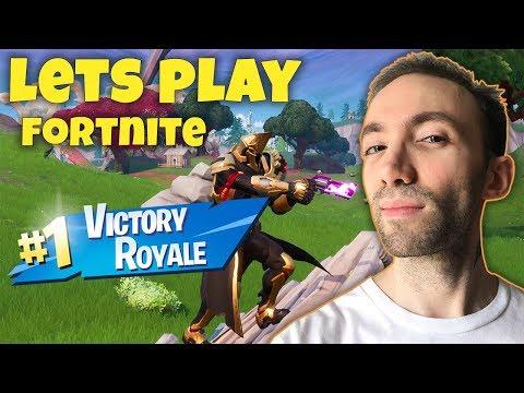 Lets Play Fortnite - یک ویکتوری رویال خیلی خوب گرفتیم