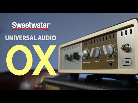 Universal Audio OX Reactive Amp Attenuator with Speaker Modeling Demo