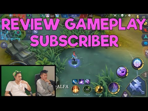 GROW WITH RRQ #1 : TUTURU & LAVITZ | MOBILE LEGENDS GAMEPLAY REVIEW