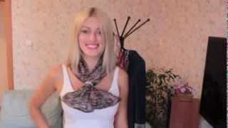 Как просто и красиво завязать шарф