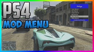 "GTA 5 ""MOD MENU"" ON PS4 CFW & OFW + DOWNLOAD!"