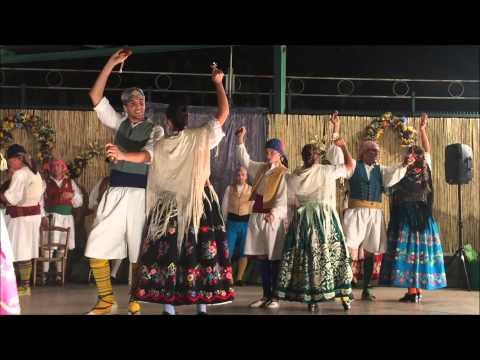 28 Muestra Folklórica en Nonduermas.