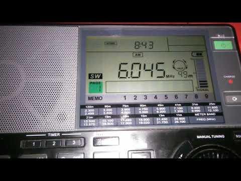 6045 KBW World Radio, Woofferton (UK) - Baeza (Spain) 1594 km