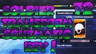 Fortnite: Save The World - The Legendary Soldier Transform Schematic Key!