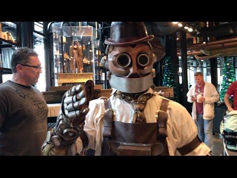 Vlog 12112016 Universal Citywalk Toothsome Chocolate Emporium And More
