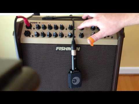 Taylor Guitar Through A Fishman Loudbox Artist + Effects