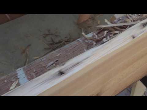 Making Natural Wood Windowsills