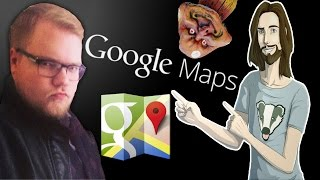 JesusAVGN и Антон путешествуют по миру (Google Maps) Free HD Video