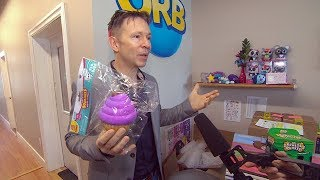 Squishies are the hot toy right now. Go behind the scenes with Orb ...