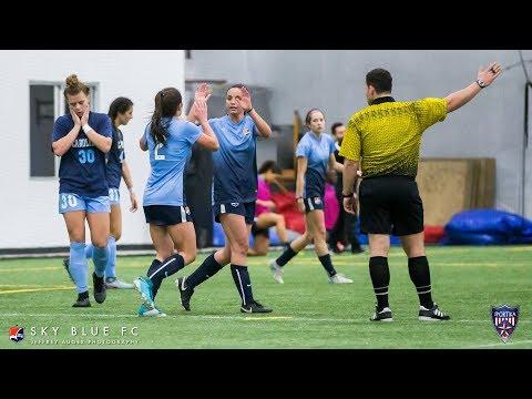 Sky Blue FC vs. UNC  2018 NWSL Preseason