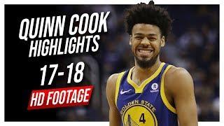 Warriors PG Quinn Cook 2017-2018 Season Highlights ᴴᴰ