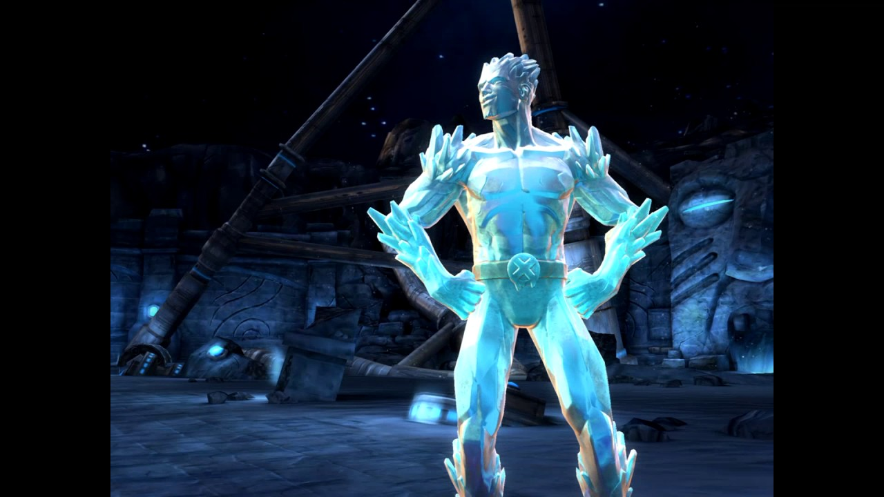 Marvel contest of champions Iceman review!! - YouTube