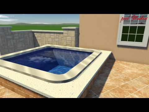 Menomonee Falls, WI Pool Design 01 001