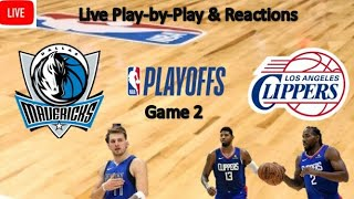 #clippers #mavericks #clippersnation #dalvslac --- game 2 of the series between dallas mavericks and los angeles clippers. seatgeek link: https://sg.app....