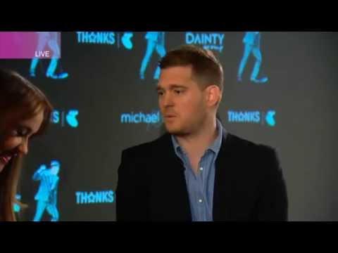 Michael Bublé Australian Tour Live Interview