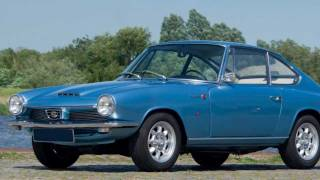 1965 Glas 1700 GT - HD photo slide show with fantastic stereo engine sounds!