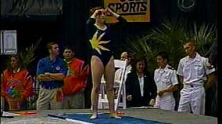 Elise Ray - 2005 NCAA Gymnastics Nationals Super Six - Bars, Beam, Floor Vault and Fluff