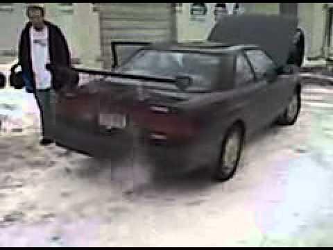1989 Mazda Mx6 Gt Turbo Bov Sound Exhaust
