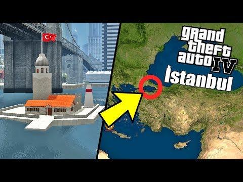 GTA 4'DE İSTANBUL'A GİTMEK! GTA 4 TÜRKİYE MOD