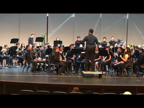 Vail Ranch Middle School Symphonic band