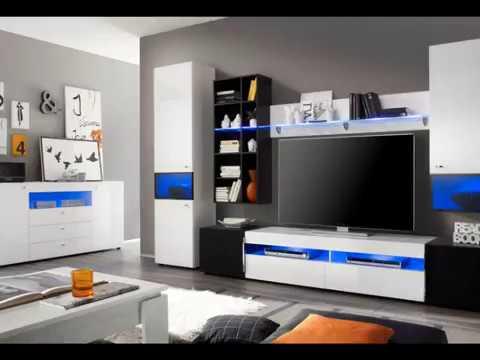 wohnwand-schrankwand-mediawand-delta-weiß-und-schwarz-hochglanz-breite-315-cm