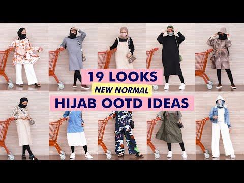 HIJAB OOTD IDEAS #NEWNORMAL #GROCERYOUTFIT | Seviq Febinita - YouTube