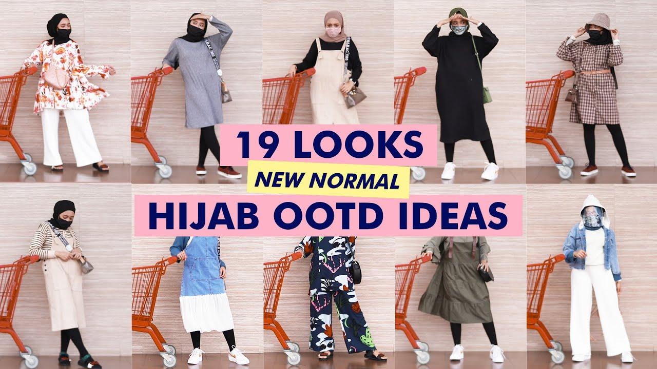 Hijab Ootd Ideas 09 Newnormal Groceryoutfit Seviq Febinita Youtube