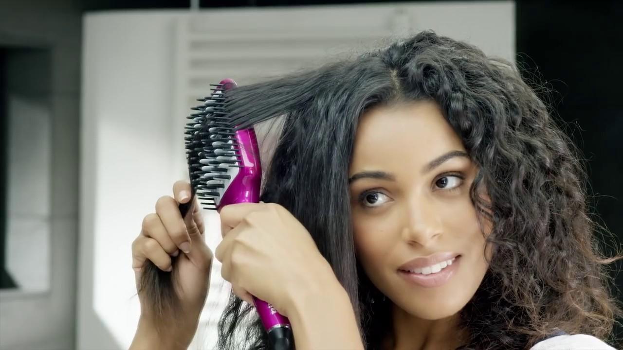 Profesionálne nahrievacie žehliace kefa na vlasy BaByLiss Liss Brush ... 075f86fc925