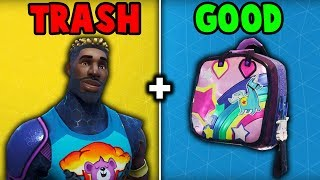 5 PIELES QUE SOLO COMPRA PARA EL BACKBLING! (Fortnite Battle Royale)