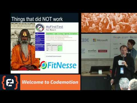 Software architecture Yes, on tests - Annarita De Biase