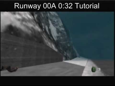 GoldenEye 007 - Runway 00 Agent Tutorial for 0:32