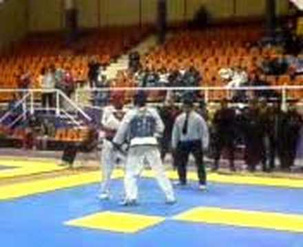 Daniel rios azul pelea 2