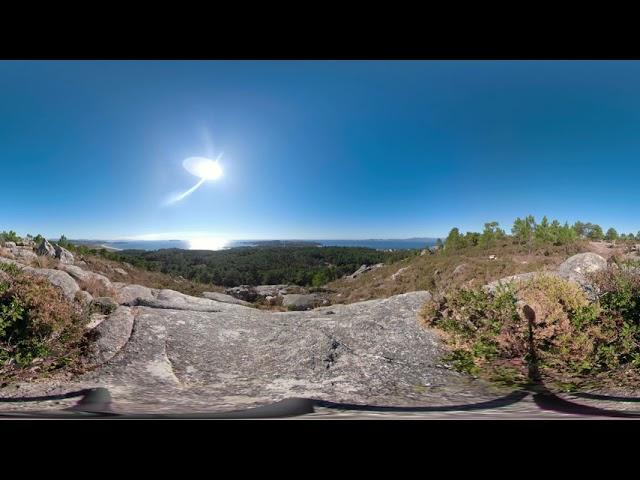 Monte siradella - zona oeste 360º