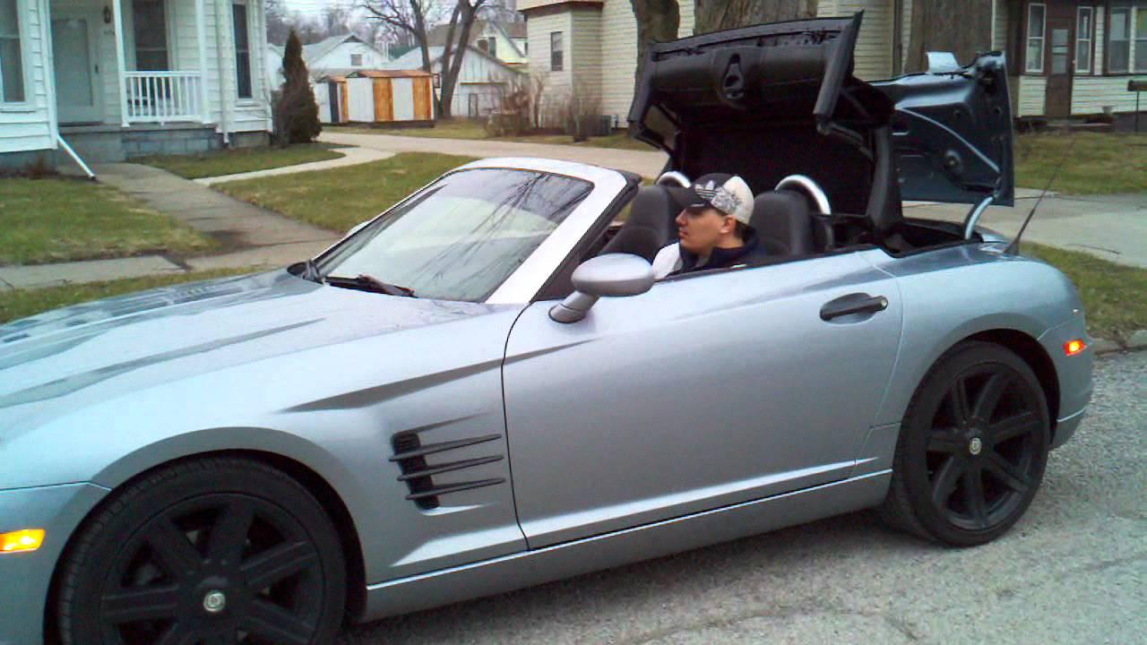 Me Randy Playing In My 05 Chrysler Crossfire Ltd