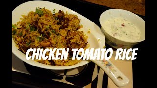 [EASY AND QUICK] Chicken Tomato Rice