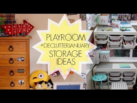 Kids Room / Toy Storage / #DeclutterJanuary