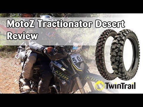 TwinTrail Review: MotoZ Tractionator Desert