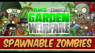 Plants vs Zombies Garden Warfare - NEXT DLC Future Spawnable Zombies? thumbnail