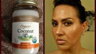 Beauty Benefits Organic Coconut Oil Skin Hair