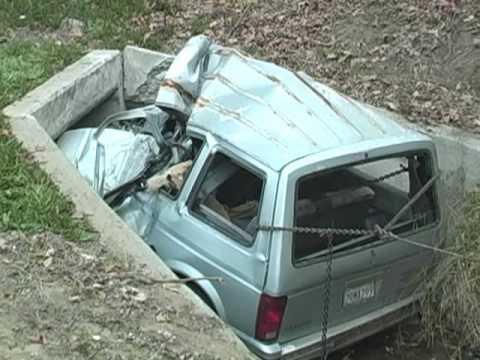 High Speed Fatal Crash