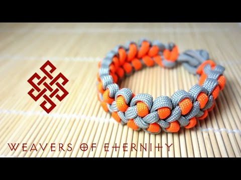 How To Make The Dragons Claw Paracord Bracelet With No Buckles